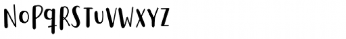Saltbush Sans Font LOWERCASE