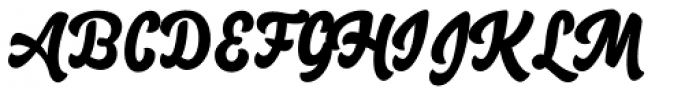 Salty1 Regular Font UPPERCASE