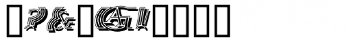 Salutatorian Deco Font OTHER CHARS