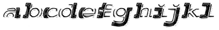 Salutatorian Engraved Font LOWERCASE