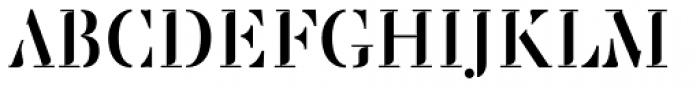 Saluzzo Font UPPERCASE