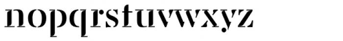 Saluzzo Font LOWERCASE