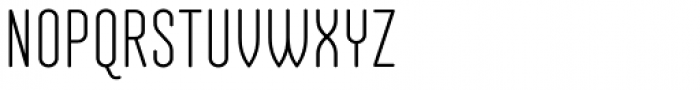 Salve Narrow Bold Font UPPERCASE