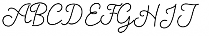Salve Script1 Bold Font UPPERCASE