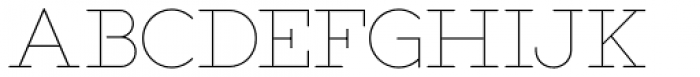 Salve Serif Font UPPERCASE