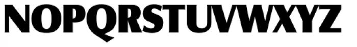 Salzburg RR ExtraBold Font UPPERCASE
