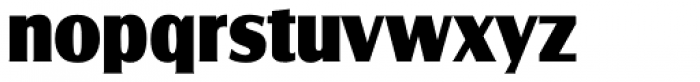 Salzburg RR ExtraBold Font LOWERCASE