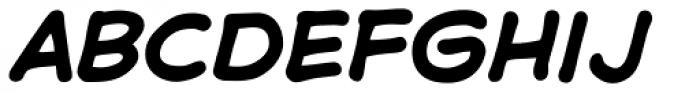 Samaritan Bold Italic Font LOWERCASE