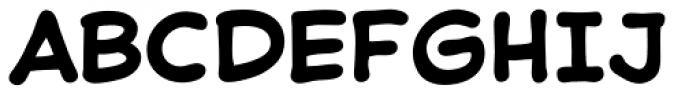 Samaritan Bold Font UPPERCASE
