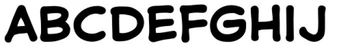Samaritan Bold Font LOWERCASE