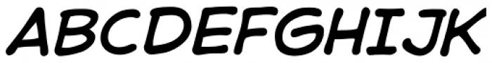 Samaritan Italic Font UPPERCASE
