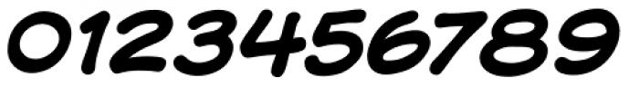 Samaritan Lower Bold Italic Font OTHER CHARS