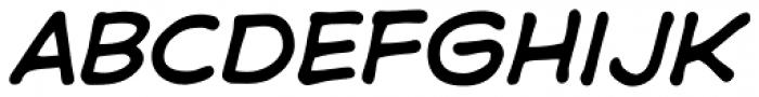 Samaritan Lower Italic Font UPPERCASE