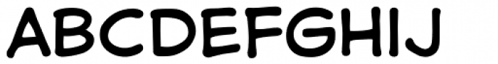 Samaritan Lower Regular Font UPPERCASE