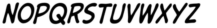 Samaritan Tall Italic Font UPPERCASE