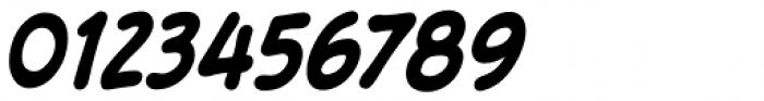 Samaritan Tall Lower Bold Italic Font OTHER CHARS