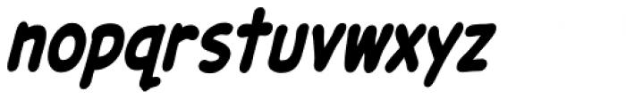 Samaritan Tall Lower Bold Italic Font LOWERCASE