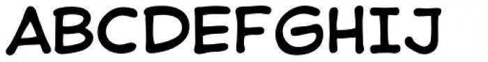 Samaritan Font UPPERCASE