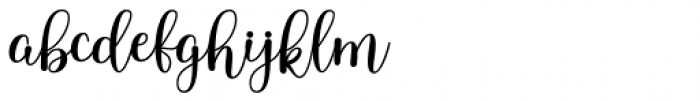 Samarra Regular Font LOWERCASE