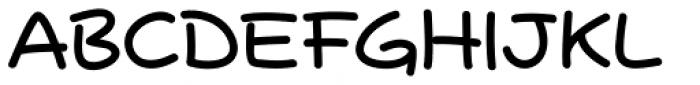 Samary Regular Font UPPERCASE