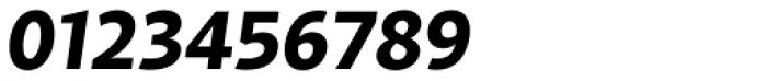 Samo Sans Bold Italic Font OTHER CHARS