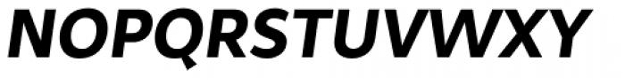 Samo Sans Bold Italic Font UPPERCASE