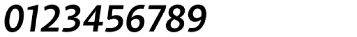 Samo Sans Pro Medium Italic Font OTHER CHARS