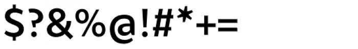 Samo Sans Pro Medium Font OTHER CHARS