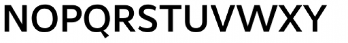 Samo Sans Pro Medium Font UPPERCASE
