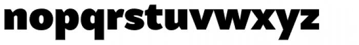 Samo Sans Pro Ultra Font LOWERCASE