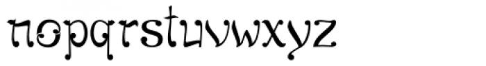 Sampa New Symphony Font LOWERCASE