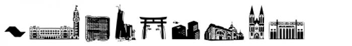 Sampa Font LOWERCASE