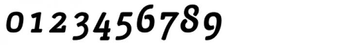 San Jaime Serif Oblique Font OTHER CHARS