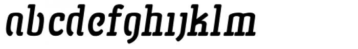 San Jaime Serif Oblique Font LOWERCASE