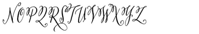 San Rafael Mission Font UPPERCASE