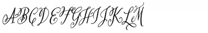 San Rafael Font UPPERCASE