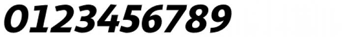 Sana Sans Alt Black Italic Font OTHER CHARS