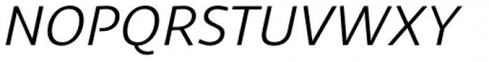 Sana Sans Alt Italic Font UPPERCASE