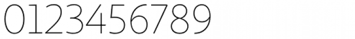 Sana Sans Alt Thin Font OTHER CHARS