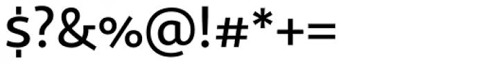 Sana Sans Medium Font OTHER CHARS