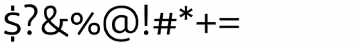 Sana Sans Regular Font OTHER CHARS