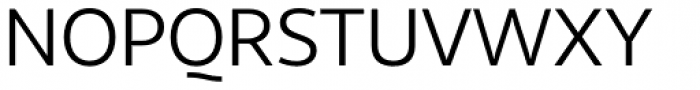 Sana Sans Regular Font UPPERCASE