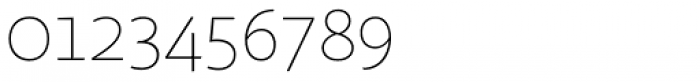 Sana Sans Thin Font OTHER CHARS