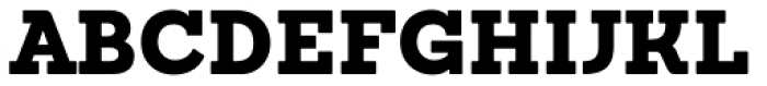 Sanchez Black Font UPPERCASE