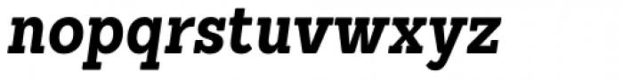 Sanchez Condensed Bold Italic Font LOWERCASE