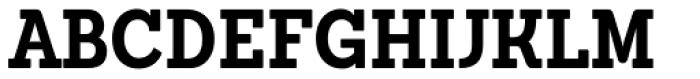Sanchez Condensed Bold Font UPPERCASE