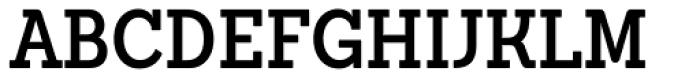 Sanchez Condensed SemiBold Font UPPERCASE