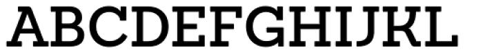 Sanchez SemiBold Font UPPERCASE