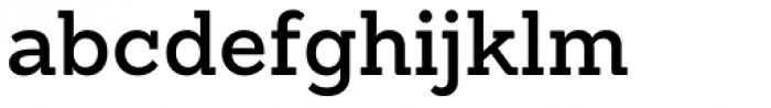 Sanchez SemiBold Font LOWERCASE