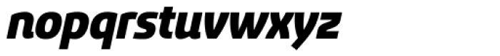 Sancoale Black Italic Font LOWERCASE